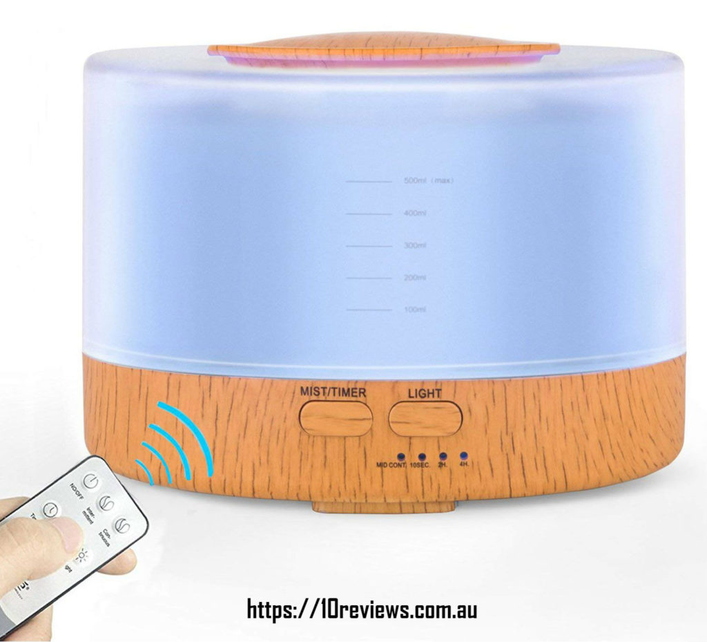 Crush on Life  Oil Diffuser, 500ml-  Remote Control Essential Oil Diffuser
