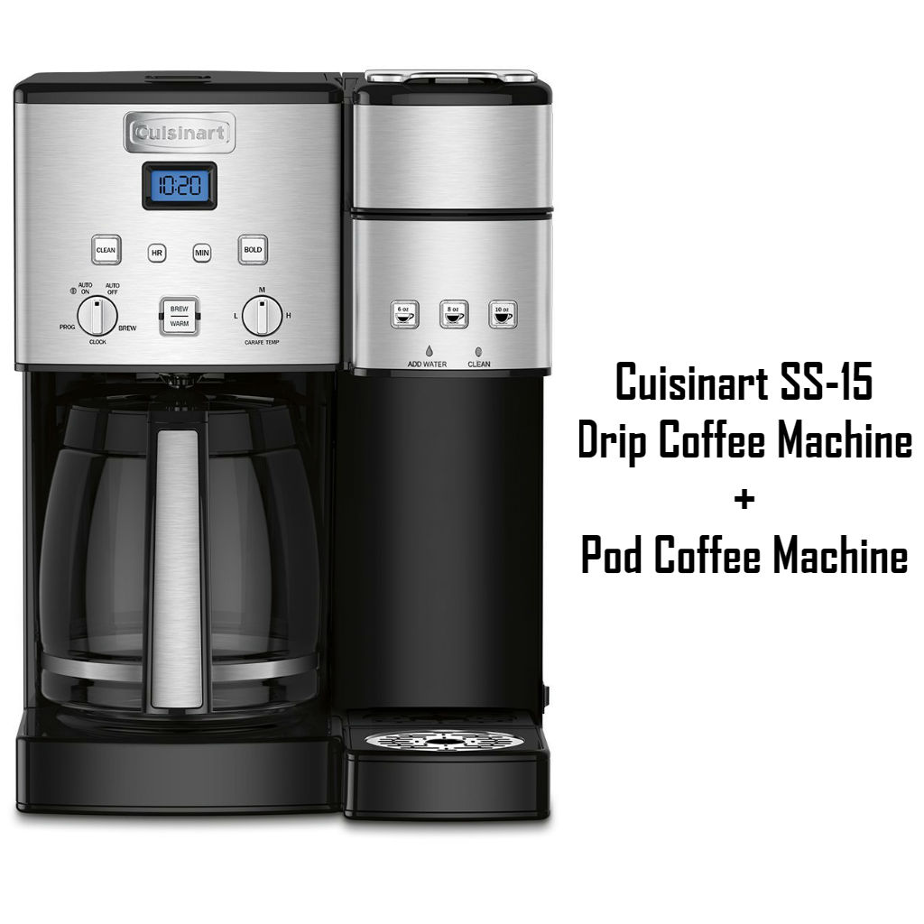 Cuisinart SS-15 – Drip Coffee Machine Plus Pod Coffee Machine Review