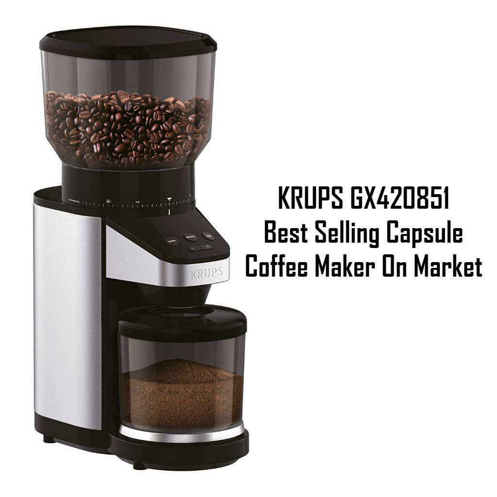 KRUPS GX420851- Best Selling Capsule Coffee Maker On Market Reviews