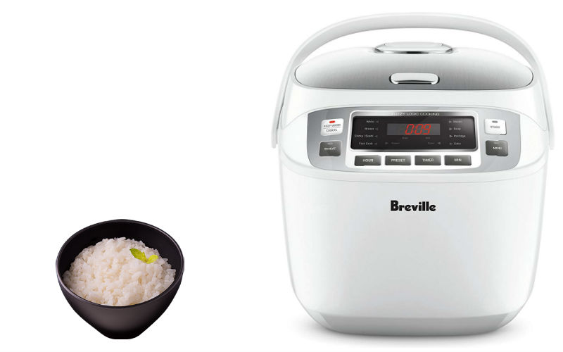 Breville LRC480WHT Top Rated Smart Rice Cooker