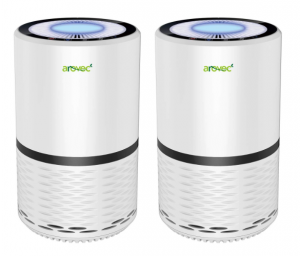 AROVEC Air Purifier for Home True HEPA Filter