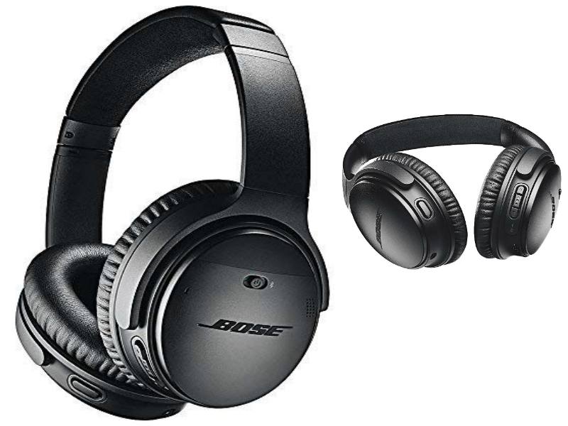 Bose QuietComfort 35 Series Best Smart Noise Cancelling Headphones Wireless
