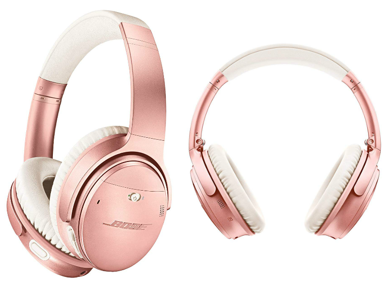 Bose QuietComfort 35 (Series II)  Wireless Bluetooth Headphones For Girls Rose Gold
