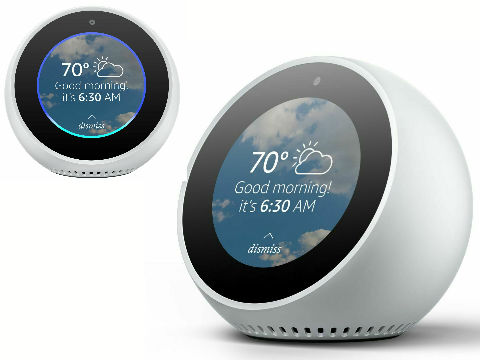 Echo Spot Assistant White Reviews and Buyer Guide