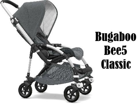 Bugaboo Bee5 Classic Complete Compact, Foldable Stroller for Travel and Urban Life