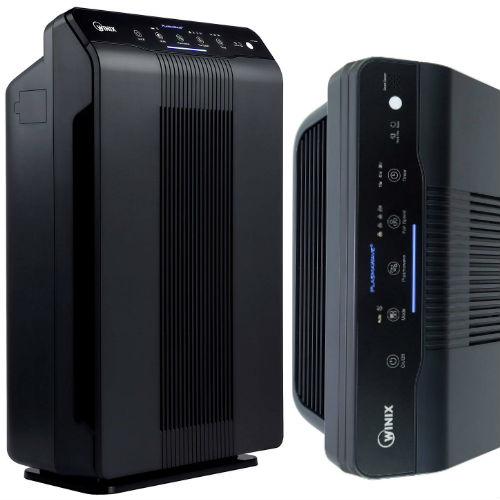 Winix 5500-2 Air Purifier with True HEPA Filter PlasmaWave and Odor Reducing Washable AOC™ Carbon Filter