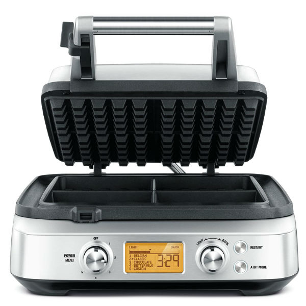 BREVILLE  BWM640BSS - Large Waffle Maker For Family Of Four Under 250