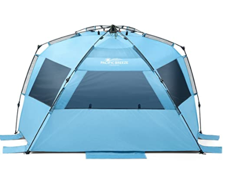Neso Tents Grande Beach Tent With Cooler Pocket