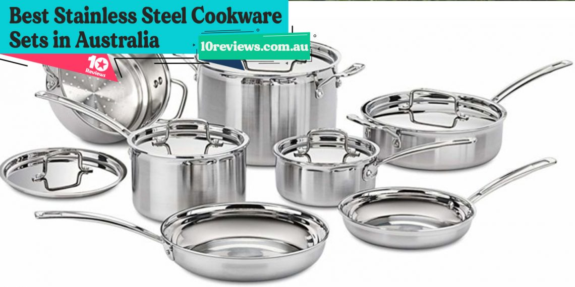 Best Stainless Steel Cookware Sets in Australia