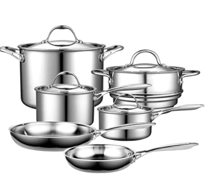 Cooks Standard Multi-ply Cookware set