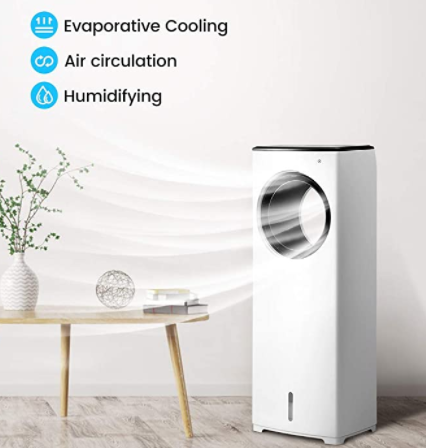 COMFYHOME 2-in-1 Evaporative Air Cooler